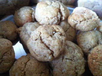Cookies cooked