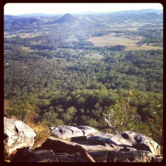 View from Mount Cooroora