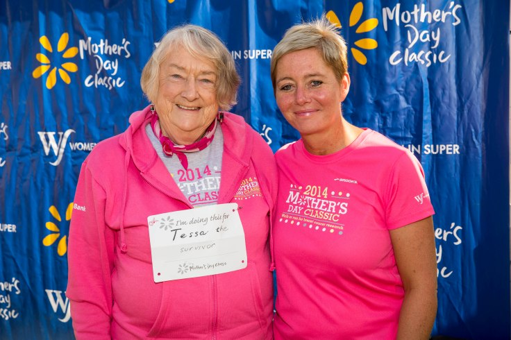 Louise Davidson and Mavis Robertson - co-founders of the Mother's Day Classic