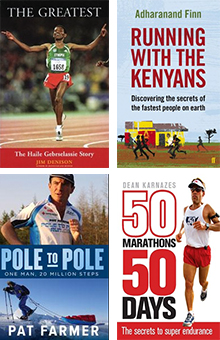Inspiring running books